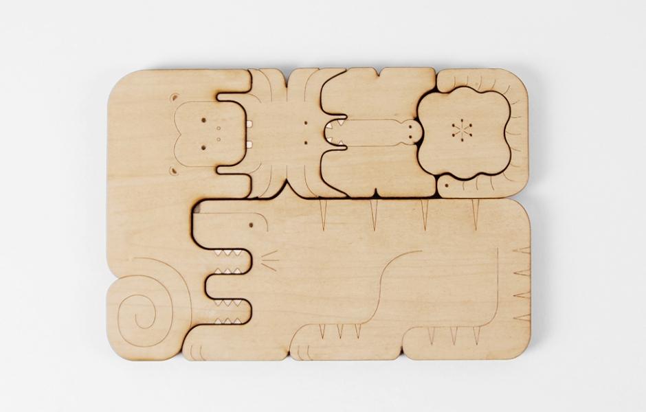 Chomp: Jungle food chain puzzle