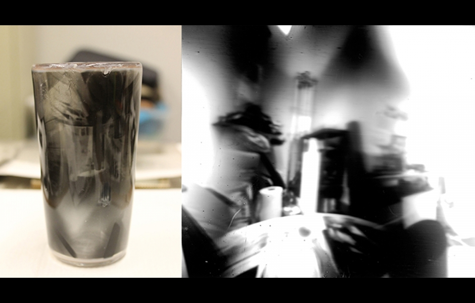 Cup with photo image of studio