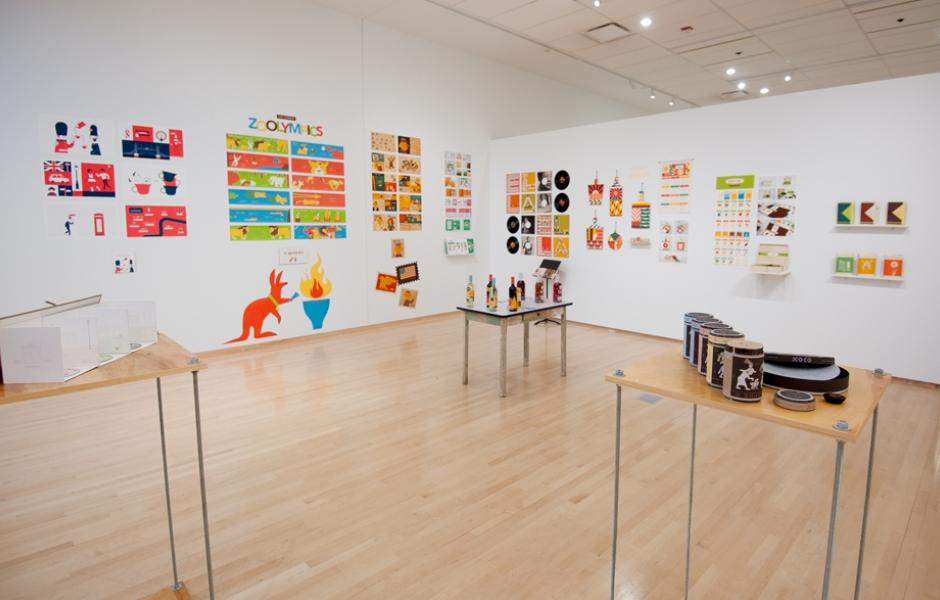 Thesis exhibition design
