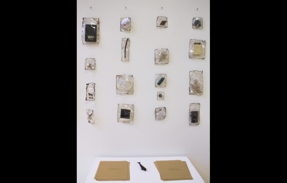 Silkscreen prints and sealed objects