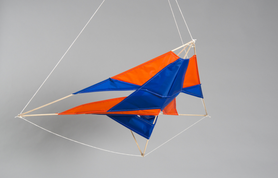 a student-made kite created in the foundations program