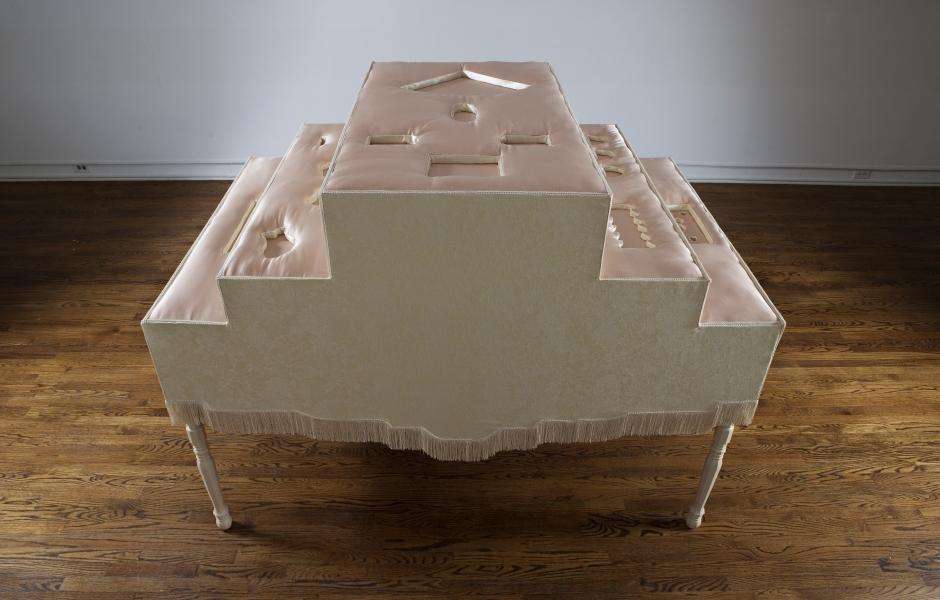 Cream Table, 2015