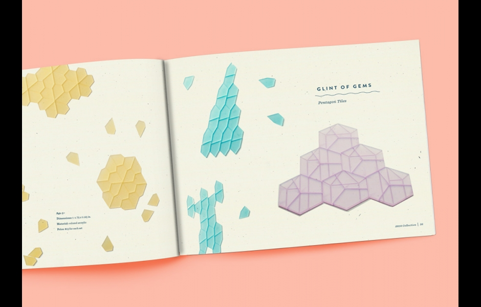 student-made graphic design project by Michele Wiesen, Andi Leibowitz, Kate Scullion.