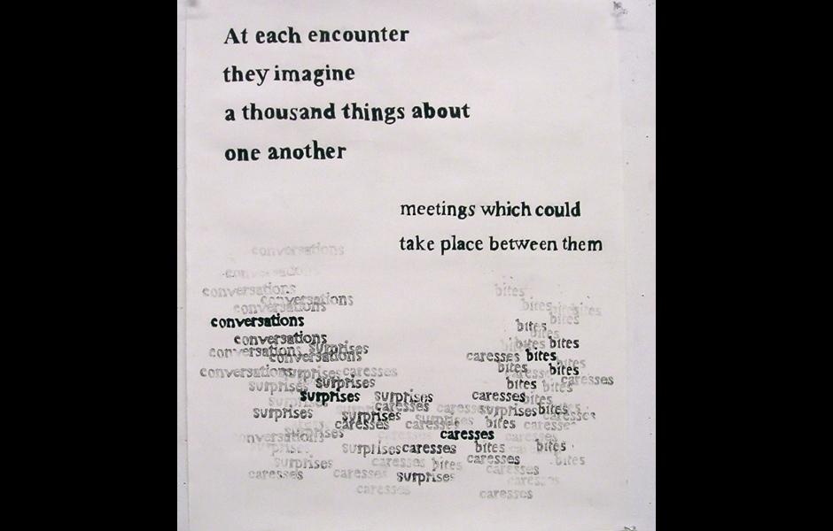 a text print