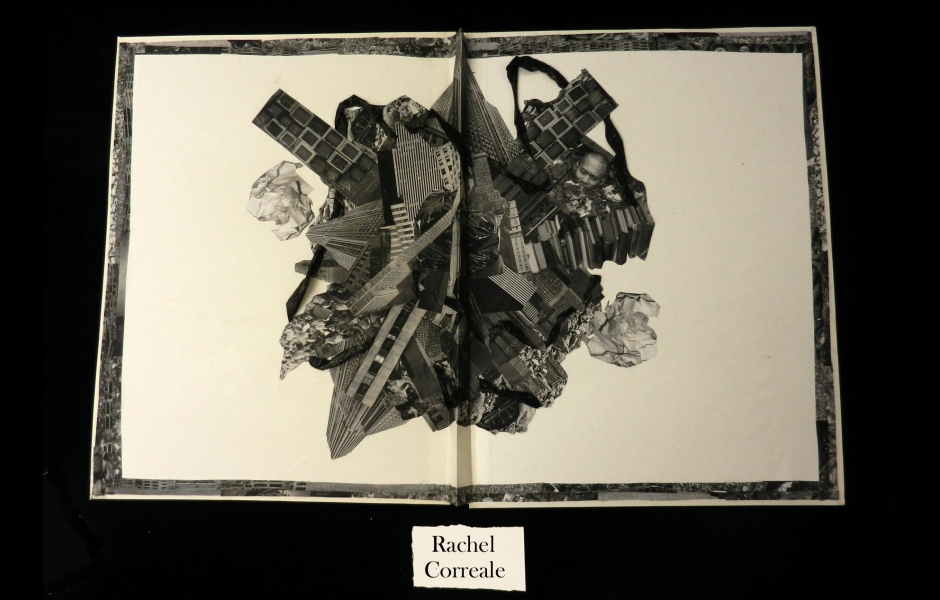 a black-and-white illustration book