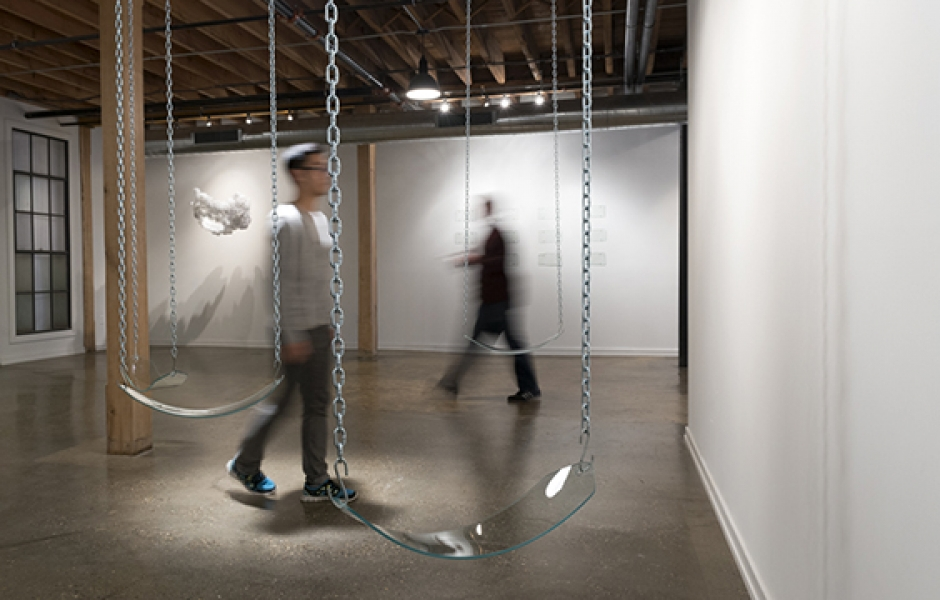glass swings