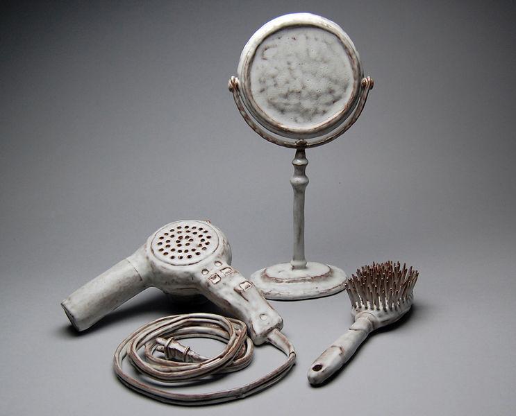 Bathroom Vanity Re-collections by Lauren Sandler