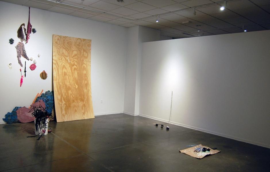 Work by Liza Buzytsky, Amanda McCavour & Rebecca Ott