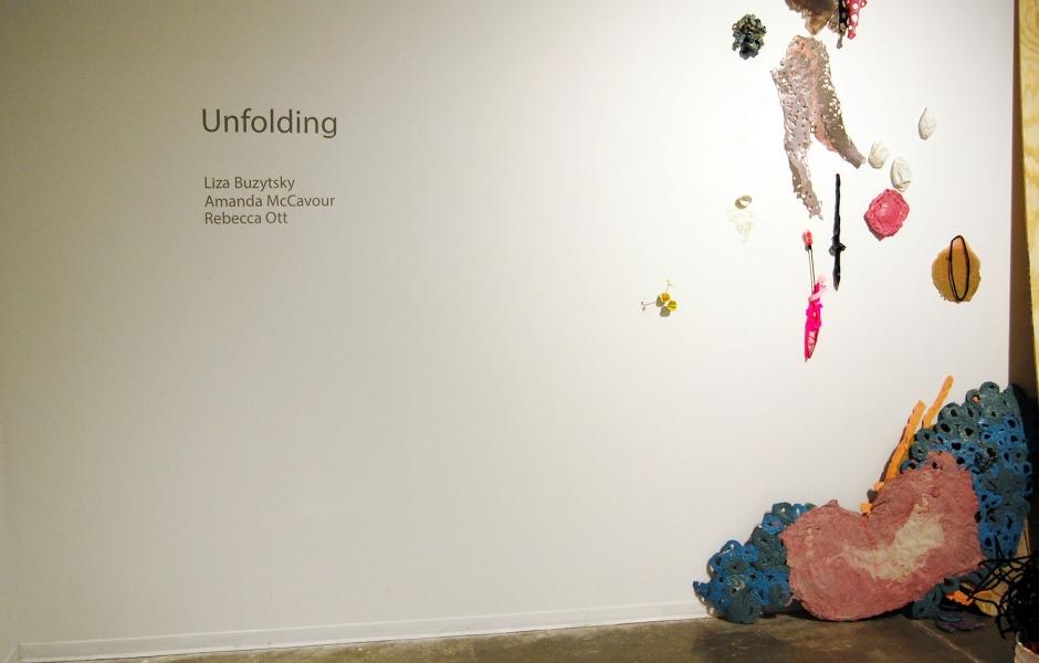 Installation shot of 'Unfolding'
