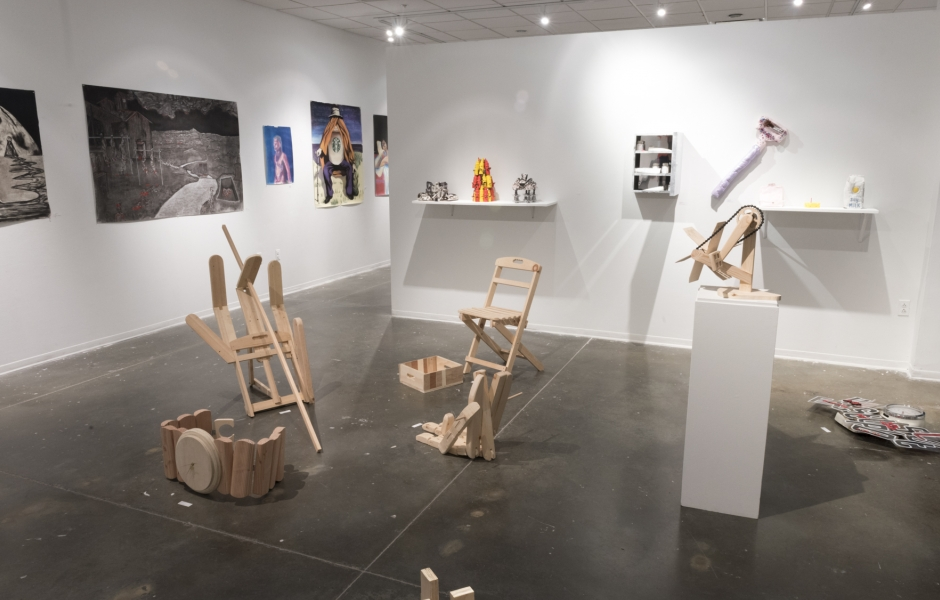 Foundation Show gallery overview