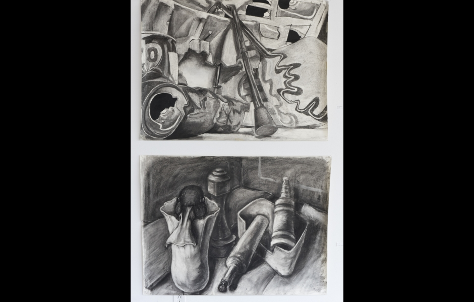 Large drawing in Foundation show