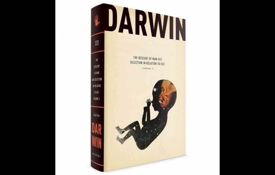 Darwin book cover volume three