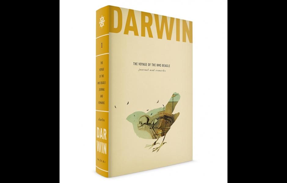 Darwin book cover volume one