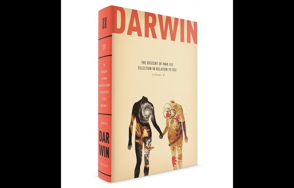 Darwin book cover volume four